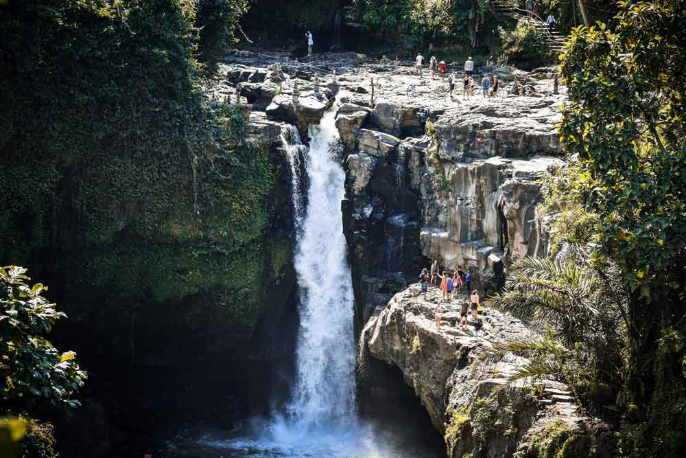 Tegenungan Waterfall Location