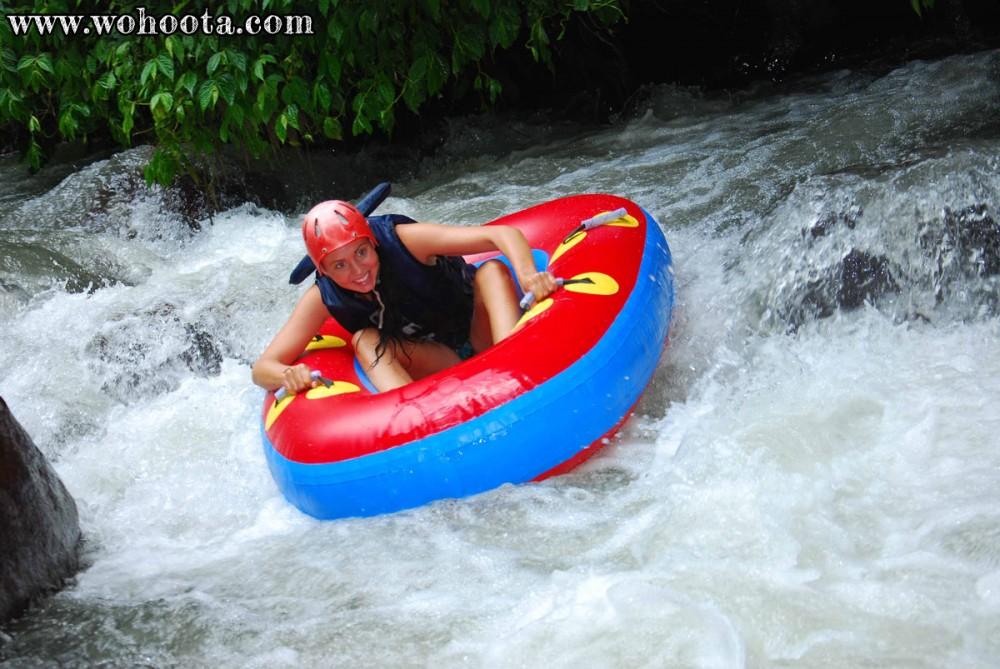 Tubing Adventure at Bali Ayung River