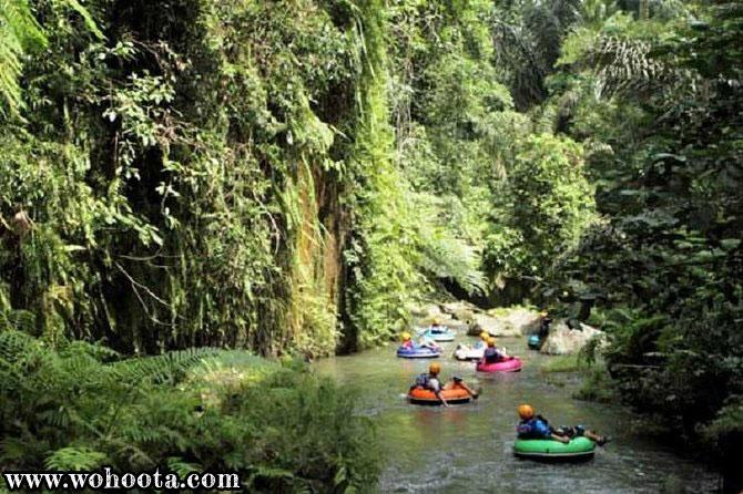 Tubing Adventure at Yeh Penet River Bali
