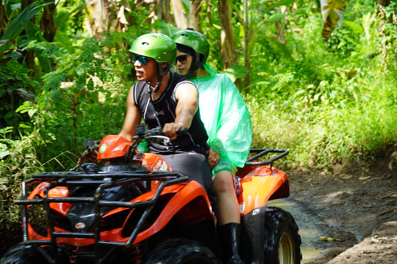 Ubud ATV Adventure in Green Forest