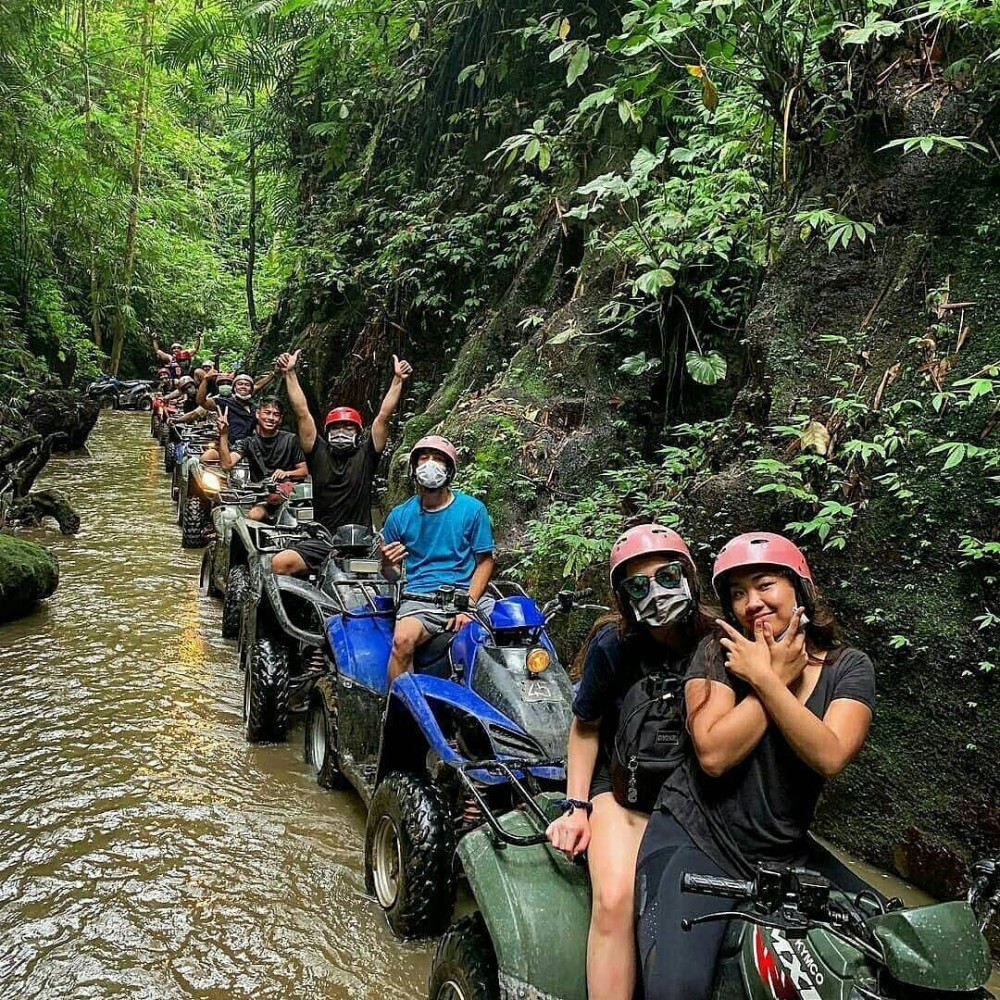 Ubud ATV Ride in Forest Track
