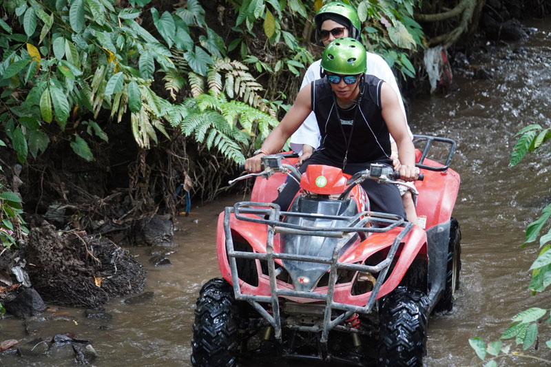 Wear Safe Equipment in Bali Quad Bike Riding