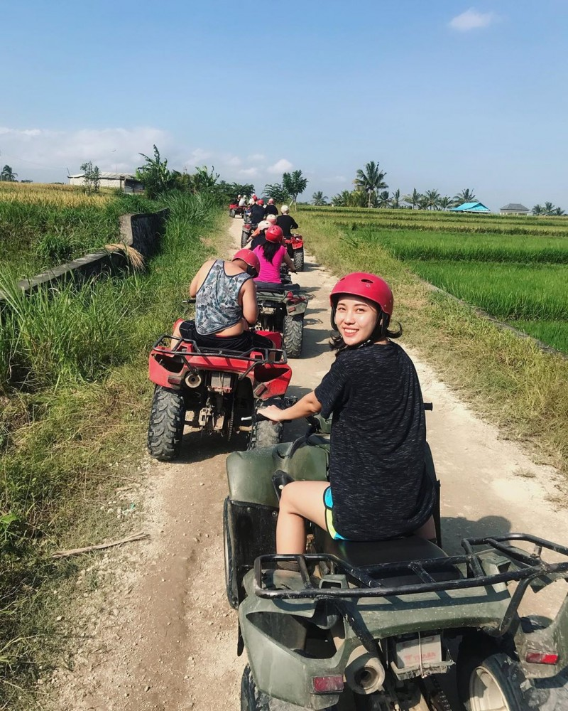 Ubud Adventure ATV Rice Field