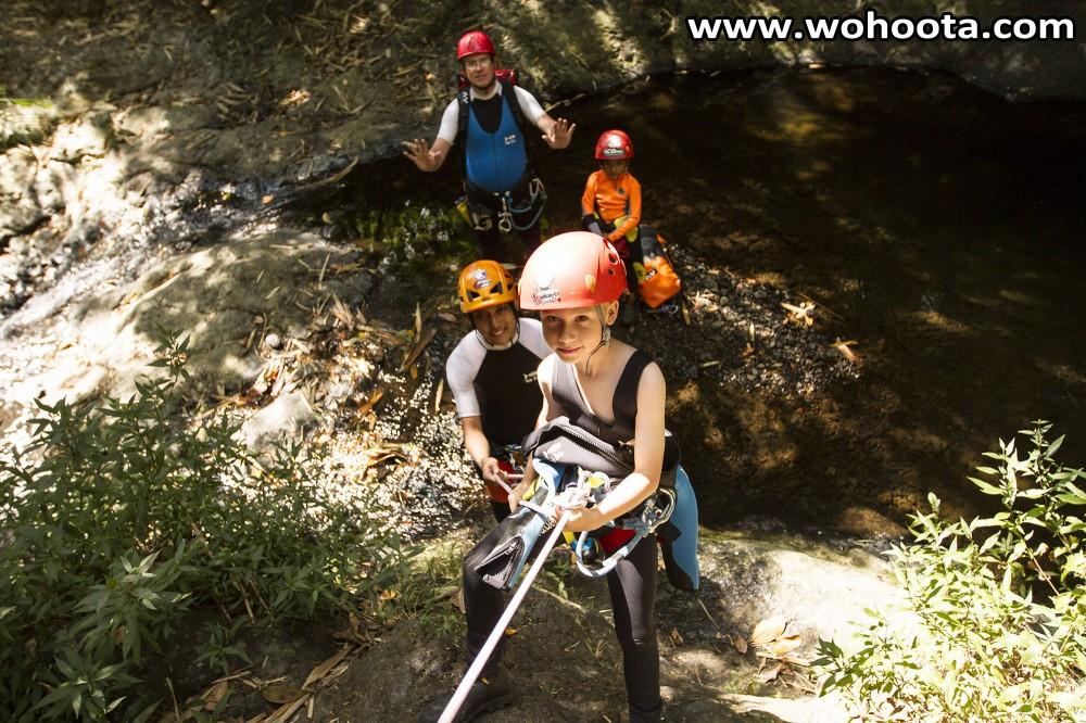 Gitgit Waterfall Canyoning
